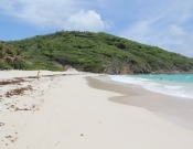 mustique maccaroni beach