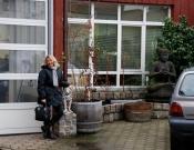 Io e Lucetta alla Wind Pilot ad Amburgo con Peter - Gennaio 08